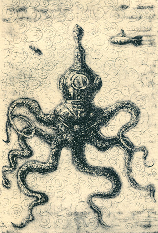 Helmeted Octopus