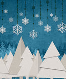 Paper Christmas Tree Backdrop - The Backdrop Store