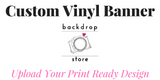 Custom Vinyl Banners - The Backdrop Store