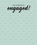 Patterened Engagement Party Backdrop - The Backdrop Store