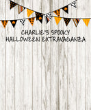 Fun Custom Halloween Backdrop - The Backdrop Store