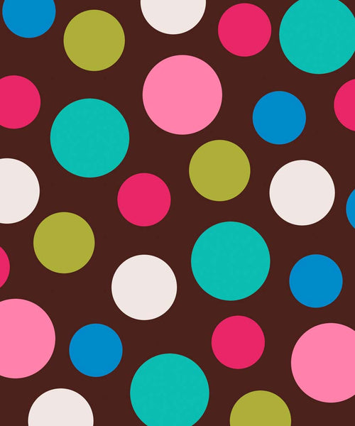 Brown Polka Dot Backdrop