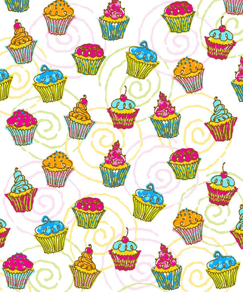 Cupcake Backdrop