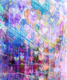 Graffiti Heart Backdrop