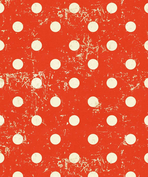 Red Polka Dot Backdrop