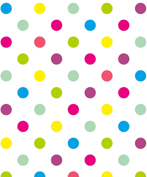 Bright Polka Dot Backdrop