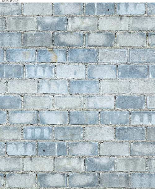 Blue Brick Backdrop