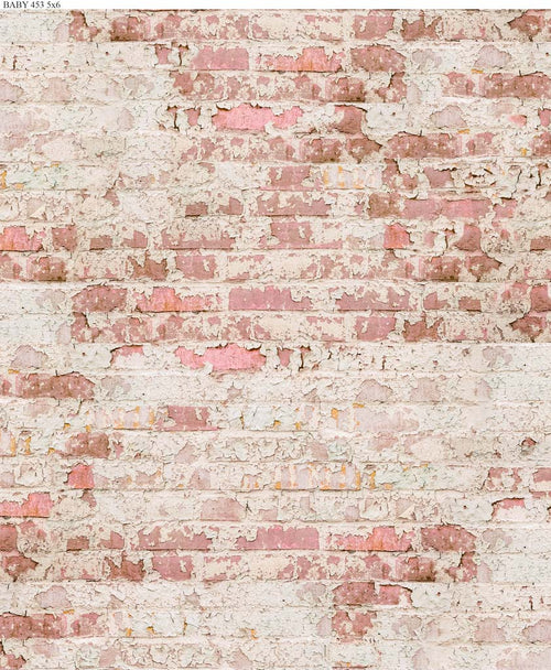 Pink Brick Backdrop