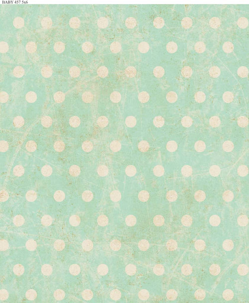 Mint Polka Dots Backdrop