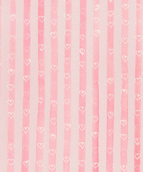 Valentines Stripe Backdrop
