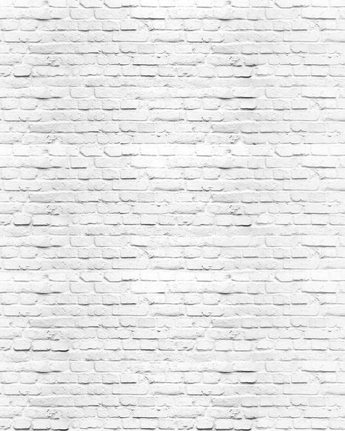 White Brick Wall Backdrop - The Backdrop Store