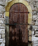 Yellow Arched Door - The Backdrop Store