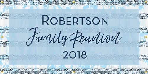 Custom Family Reunion Banner - The Backdrop Store