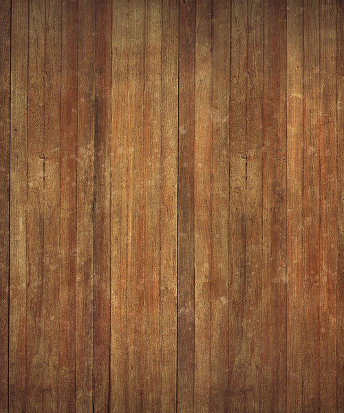 Long Brown Wood Floordrop - The Backdrop Store
