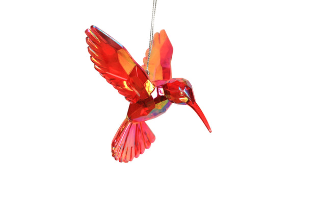 Red Hummingbird - Decoration