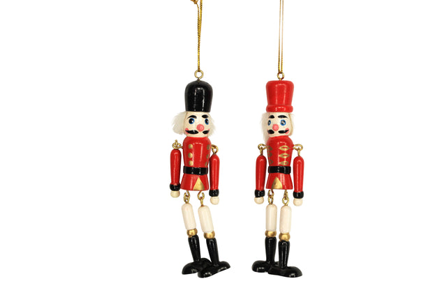 Loose Jointed Nutcracker - Decoration