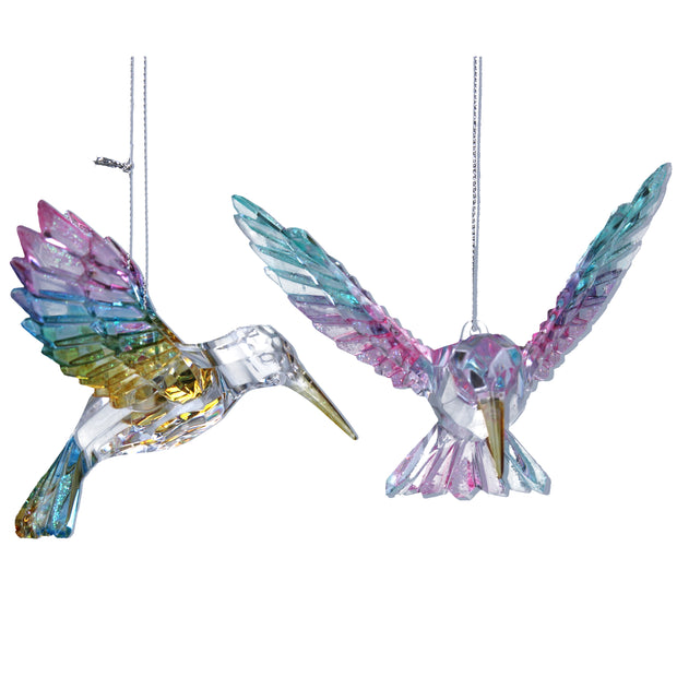 Clear Hummingbird - Decoration
