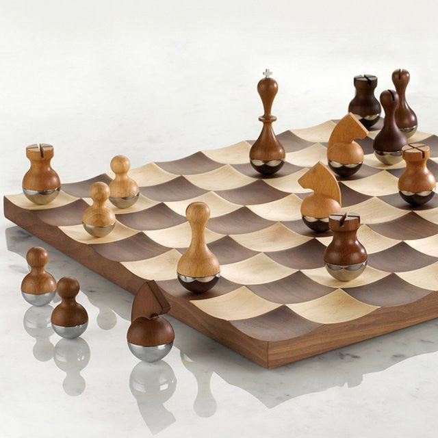 Wobble Chess Set - by Umbra
