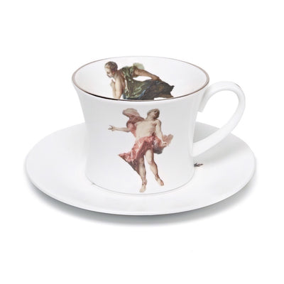 Rising Sun Apollo Teacup and Saucer - by Melody Rose
