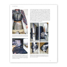 Armour of the English Knight 1400-1450, page 271, with photographs of replica armour being assembled