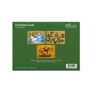 Golden Objects Christmas Card 6 Pack