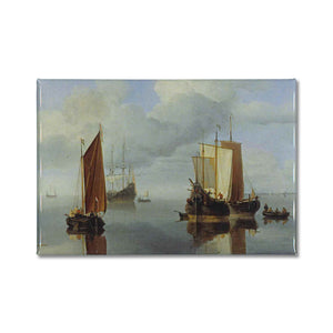 Fishing Boats under Sail Magnet