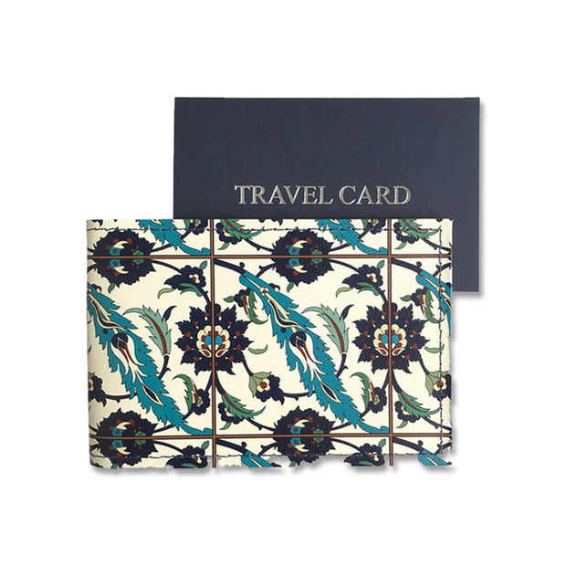 Minton Tile Travel Card Holder