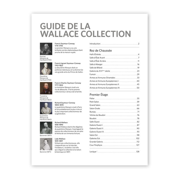 The Wallace Collection Guidebook: Version Française