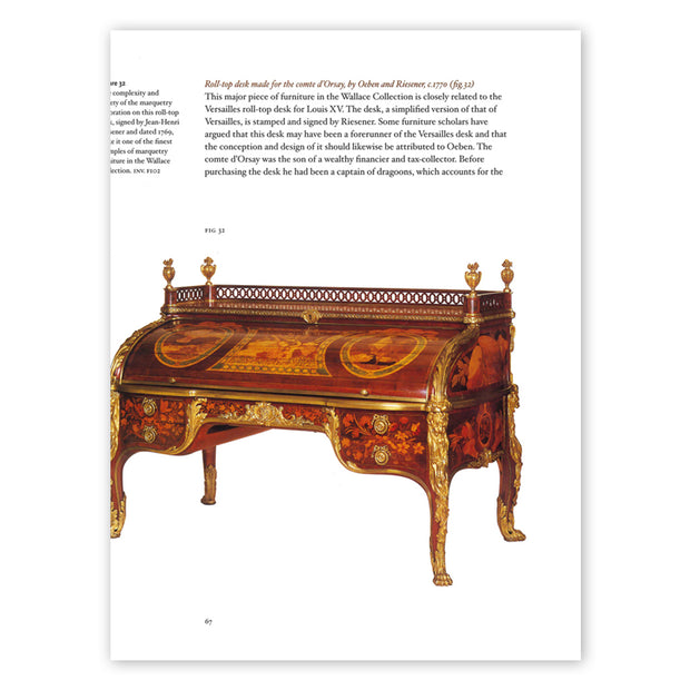 French Marquetry Furniture: Paintings in Wood