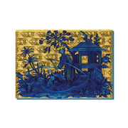 French Gold Box Greetings Card
