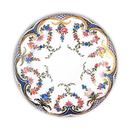 Garland of Roses Decorative Tin Plate