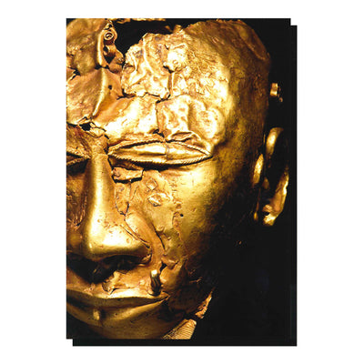 Gold Trophy Head Greetings Card