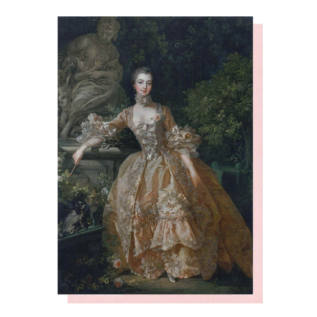 Madame de Pompadour Greetings Card