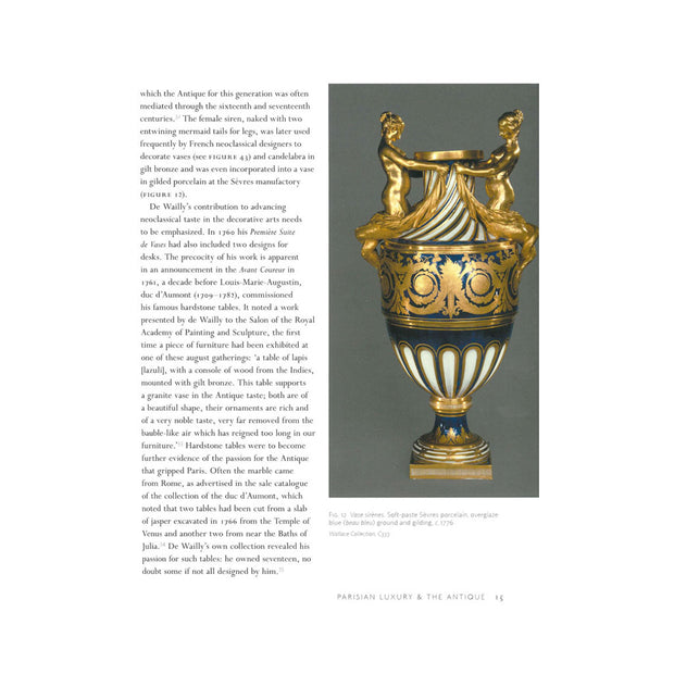 Gilded Interiors: Parisian Luxury & the Antique, Page 15.