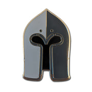 Sallet Enamel Pin Badge
