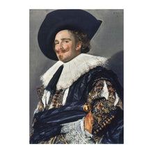 The Laughing Cavalier Greetings Card