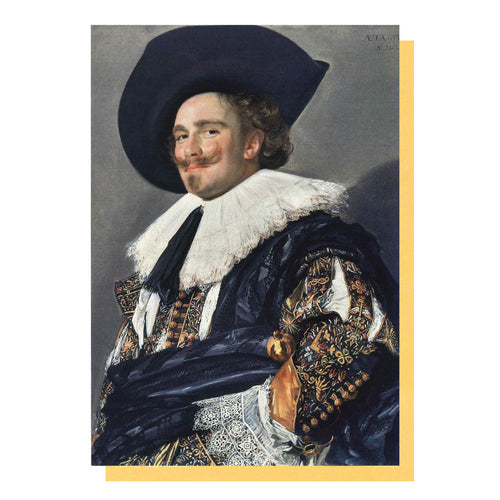 The Laughing Cavalier, by Frans Hals, Greetings Card from the Wallace Collection.
