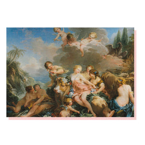 The Rape of Europa Greetings Card