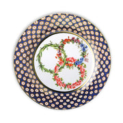 Three Garlands Decorative Tin Plate