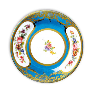 Turquoise Daisy Decorative Tin Plate