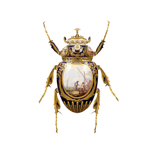 SÈVRES GOLIATHUS SCARABAEIDAE - LIMITED EDITION PRINT BY MAGNUS GJOEN