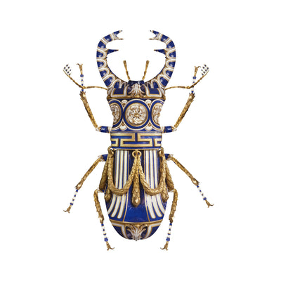 Sèvres Lucanus Cervus. Limited edition print by Magnus Gjoen for the Wallace Collection