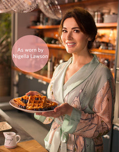 As seen on Nigella Lawson, At My Table. Venice Map Dressing Gown by One Hundred Stars.
