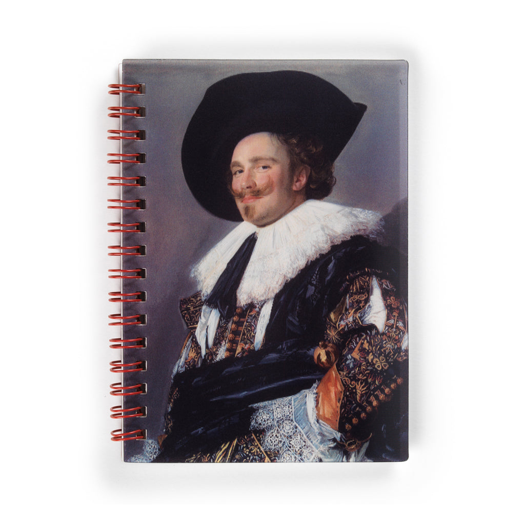 The Winking Cavalier Lenticular Notebook