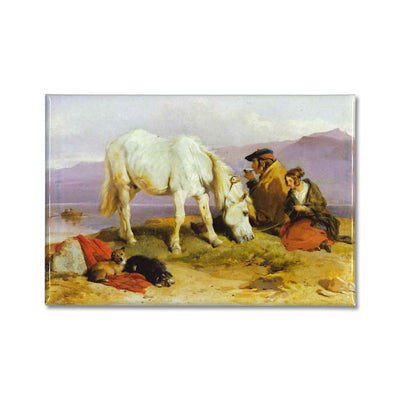 a Highland Scene by Edwin Landseer on a souvenir fridge magnet