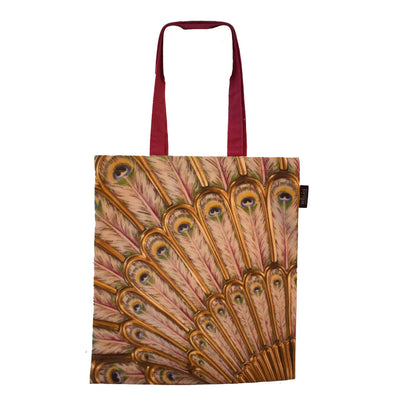 Peacock Snuff Box Tote Bag