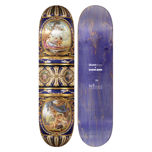 Skate or Die Sèvres Limited Edition Skate Deck by Magnus Gjoen
