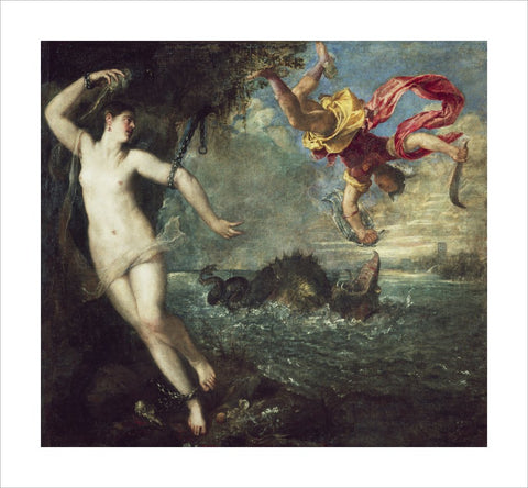 Perseus and Andromeda print
