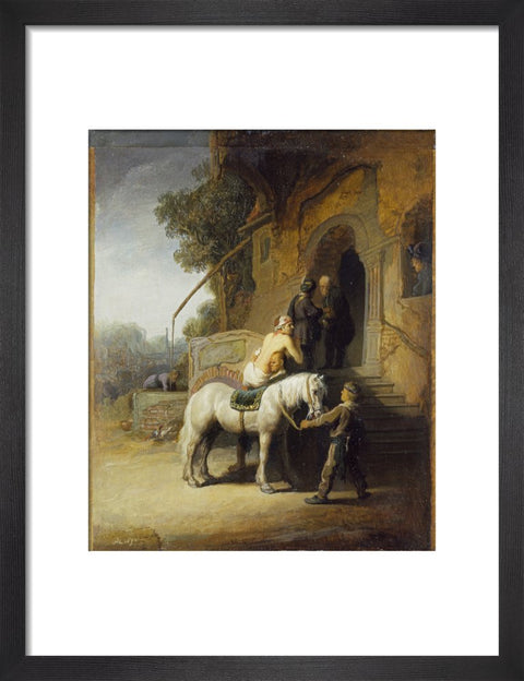 The Good Samaritan print