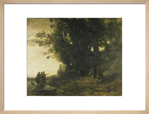 Macbeth and the Witches print
